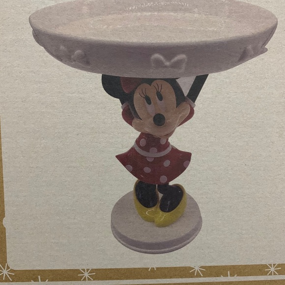Disney Minnie Mouse cake stand brand new
